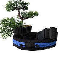 Поясна сумка для бігу поліестер синя Арт.FM-30124 Бренд (Китай)
