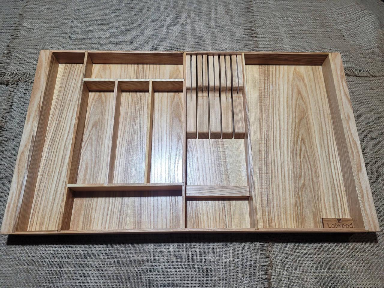 Лоток для столовых приборов P720-810.450 ясень