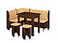 Кухонний куточок Адмірал з розкладним столом і табуретами, фото 6
