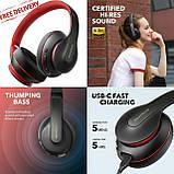 Гібридні навушники Anker Soundcore Life Q10 з активним шумозаглушенням бездротові накладні Bluetooth, фото 8