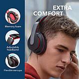 Гибридные наушники Anker Soundcore Life Q10 с активным шумоподавлением беспроводные накладные Bluetooth, фото 9
