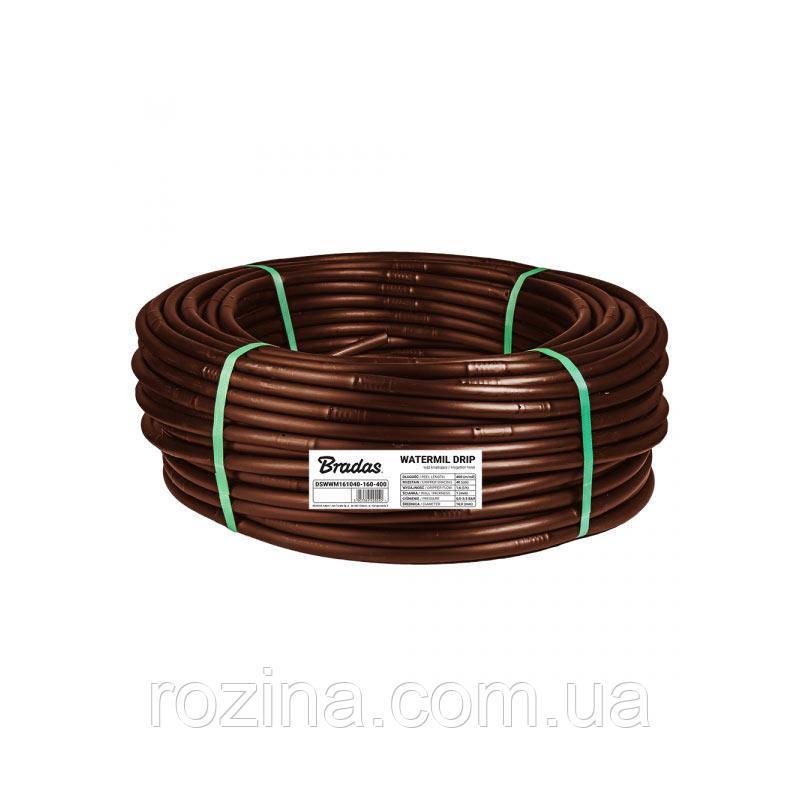 Крапельна Трубка 16 / 1,0 мм / 50см / 1,6 л/год WATERMIL DRIP BROWN, DSWWMB161050-160-100