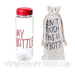 Бутылка для питья My Bottle в чехле 500 ml красная
