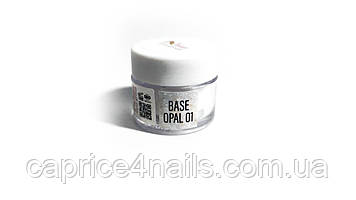 Камуфлююча база Base Opal 01, JZ nails group, 12 мл