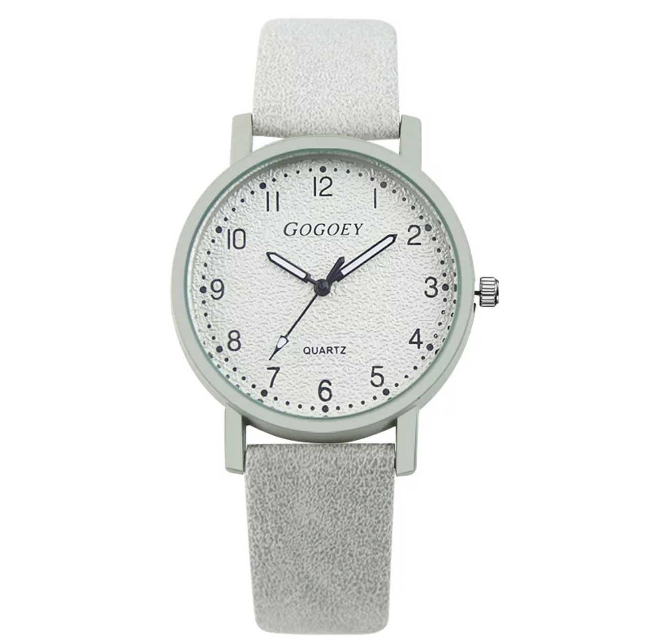 Годинники жіночі Gogoey дуже привабливі сірий колір