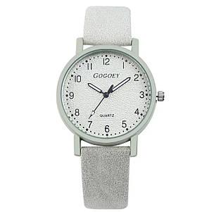 Годинники жіночі Gogoey дуже привабливі сірий колір, фото 2