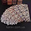 Диадема золотая, тиара красивая, корона , высокая диадема, фото 9