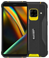 """Blackview BV5100 5.7"""" 4GB RAM 64GB ROM NFC IP68 4G 13MP 5580мАч Android10 Yellow, фото 1"""
