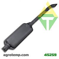 Глушитель длинный МТЗ-100 245-1205015