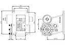 Коробка отбора мощности (КОМ) MO 36S6 для MITSUBISHI, фото 2