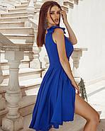 Жіноче нарядне плаття без рукавів з красивим декольте, фото 3