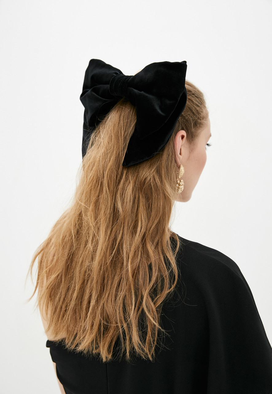 Великий оксамитовий бант. luxury аксесуар для волосся.