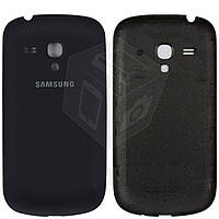 Задняя крышка батареи для Samsung Galaxy S3 mini i8190, оригинал (синий)