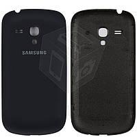 Задняя крышка батареи для Samsung Galaxy S3 mini i8190, синий, оригинал