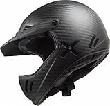 Шлем из углеродного волокна LS2 Matte Black Carbon Xtra, фото 3