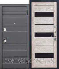 Двері вхідні 105 мм Чарлстон Царга глянець мокко