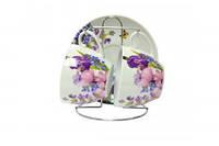 Набор чайный Пурпурные цветы 5 предметов KERAMIA