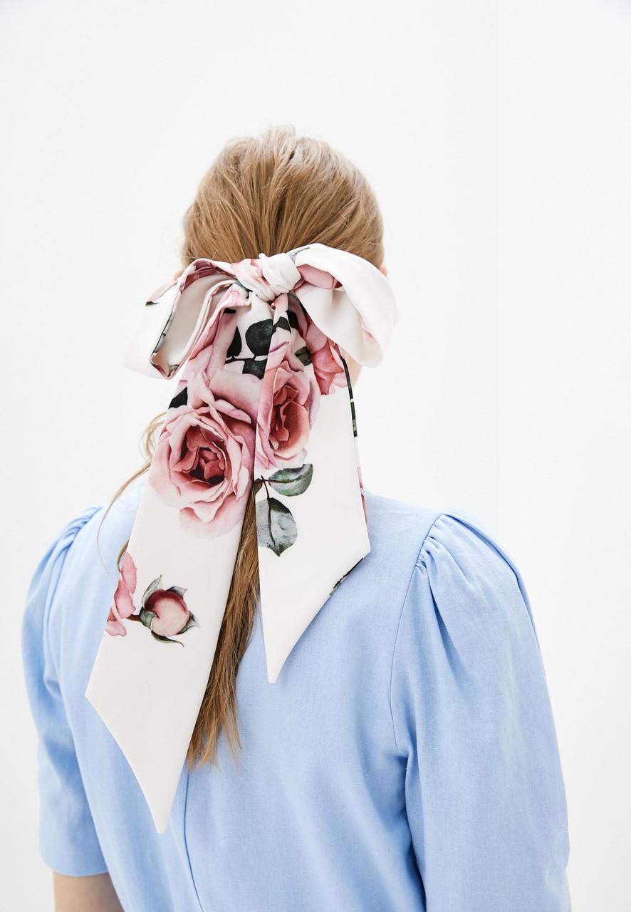 Лента твилли + резинка для волос