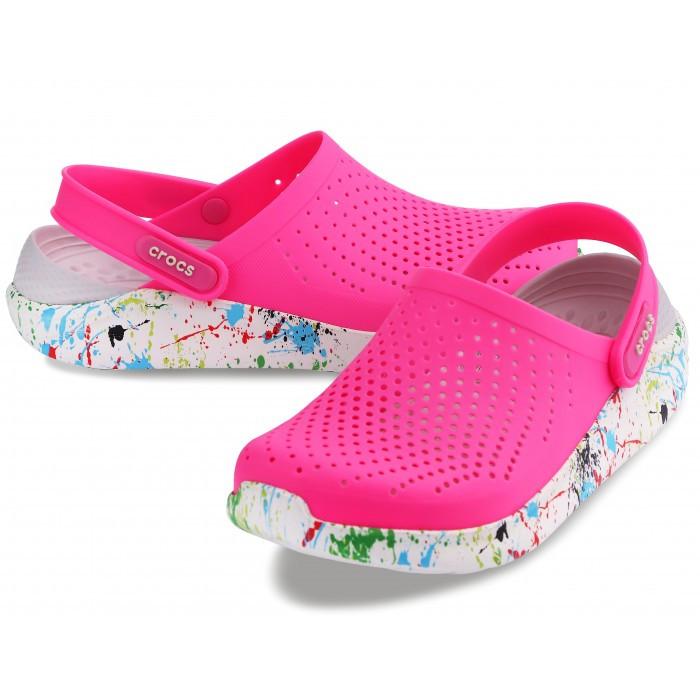 Женские кроксы Crocs LiteRide™ Clog розовые 38 р.