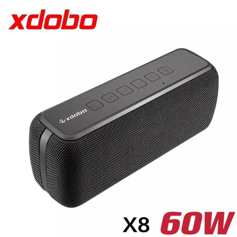 Портативна акустика XDOBO X8 60 Вт IPX5, 6600mAh . бездротова колонка