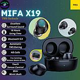 Повністю бездротові навушники Mifa X19 чорні, фото 4