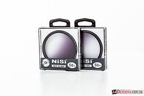 Светофильтр с градиентом NiSi DUS Ultra Slim PRO GC-GRAY 58mm