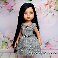 """Сукня """"Срібло"""" з паєтками для ляльок Паола Рейну"""