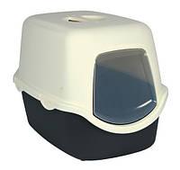 Туалет Trixie Diego Litter Tray для кошек закрытый, с фильтром, 40×40×56 см