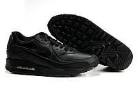 "Кроссовки Nike Air Max 90 Leather ""Black"" Арт. 0011"