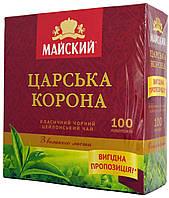 "Чай черный Майский ""Царская Корона"" 100п."