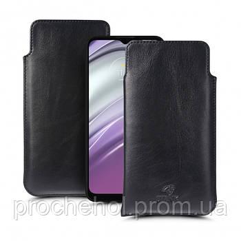 Футляр Stenk Elegance для Motorola Moto G20 Чёрный