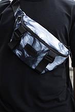 Мужская Бананка Fazan V2 Intruder цвет Комбинированный. Серый