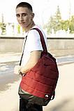 Комплект TWIX рюкзак Nike червоний меланж + барсетка Nike червоний меланж, фото 2