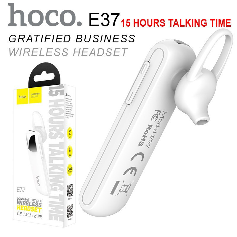 Блютуз гарнітура Hoco E37 wait