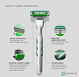Для гоління gilette Mach3 Sensitive Power 8 шт. в упаковці, Німеччина, змінні касети для гоління, фото 8