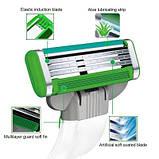 Для гоління gilette Mach3 Sensitive Power 8 шт. в упаковці, Німеччина, змінні касети для гоління, фото 7