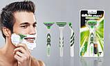 Для гоління gilette Mach3 Sensitive Power 8 шт. в упаковці, Німеччина, змінні касети для гоління, фото 9