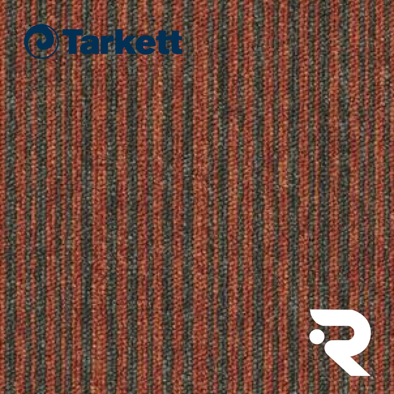 🐈 Ковровая плитка Tarkett   Essence Stripe AA91 5102   Essence Stripe   500 х 500 мм