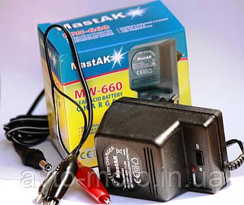 Зарядное устройство для аккумулятора скутера 12/6V-0,5A (универсальное)