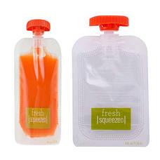 Опт 10 одноразовых дой-пак пакетов для станции расфасовки детского питания Squeeze Station, фото 2