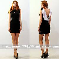 Платье с пайетками и открытой спиной