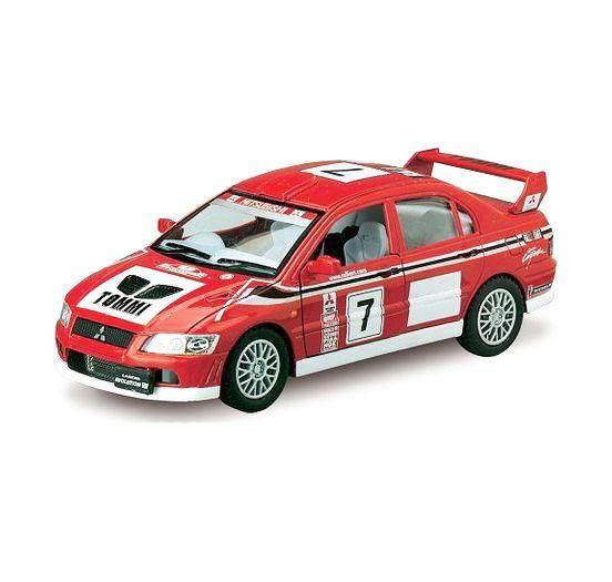 """Машинка KINSMART """"Mitsubishi Lancer Evolution VII WRC"""" KT5048W"""
