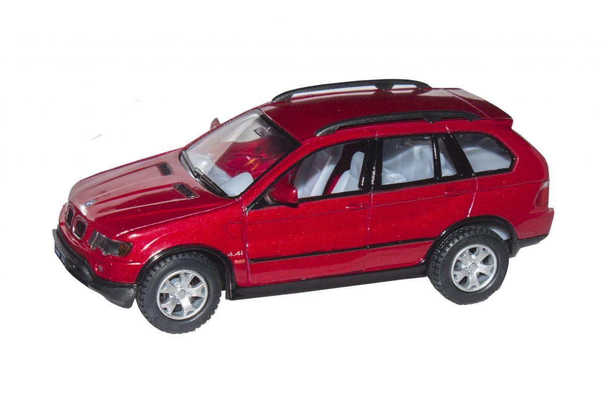 Машинка KINSMART BMW X5 (червоний) KT5020W
