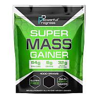 Гейнер Powerful Progress Super Mass Gainer, 4 кг Клубника
