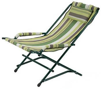 """Крісло """"Качалка"""" d20 мм (текстиль зелена/блакитна стрічка) (2110008)"""