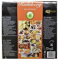 Мультиварка Rainberg RB-6208 пароварка скороварка рисоварка бытовая 42 программы 6 л 1000 W, фото 6