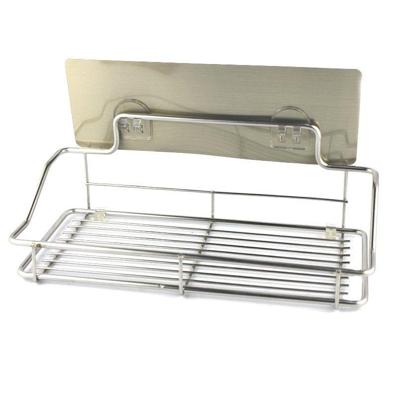 Полочка для аксессуаров в ванную на липучке 25 см SKL11-132859