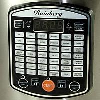 Мультиварка Rainberg RB-6208 пароварка скороварка рисоварка бытовая 42 программы 6 л 1000 W, фото 10