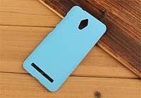 Пластиковый чехол накладка для Asus Zenfone GO ZC500TG голубой, фото 1