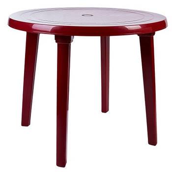Стіл круглий (вишневий) (100011)